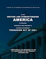 A Report to the Congress in Accordance with Section 359 of the Uniting and Stren af U. S. Department of the Treasury