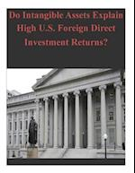 Do Intangible Assets Explain High U.S. Foreign Direct Investment Returns? af Bureau of Economic Analysis