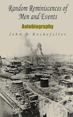 Random Reminiscences of Men and Events af John D. Rockefeller