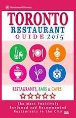 Toronto Restaurant Guide 2015