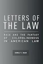Letters of the Law (Cultural Lives of Law)