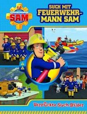 Feuerwehrmann Sam - Such mit Feuerwehrmann Sam - Verrückte Suchbilder - Wimmelbuch mit lustigen Lernspielen und Aufgaben - Pappbilderbuch mit 18 Seiten für Kinder ab 18 Monaten