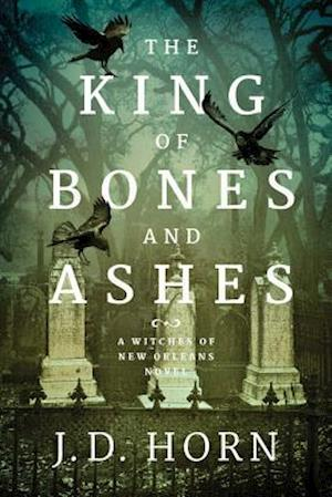 Bog, hardback The King of Bones and Ashes af J. D. Horn