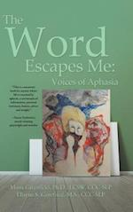 The Word Escapes Me