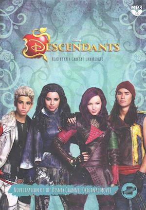 Lydbog, CD The Descendants af Disney Press