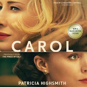 Lydbog, CD Carol af Patricia Highsmith