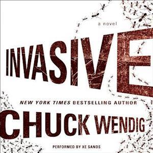 Lydbog, CD Invasive af Chuck Wendig