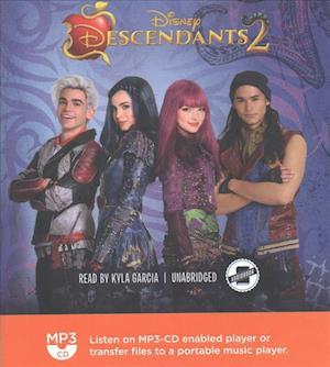 Lydbog, CD Descendants af Eric Geron