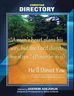 He'll Direct You: Christian Directory inspired by Aderemi Adejokun Designed & Photographed by Marian & Mariah