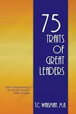 75 Traits of Great Leaders