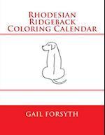 Rhodesian Ridgeback Coloring Calendar af Gail Forsyth