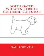 Soft Coated Wheaten Terrier Coloring Calendar