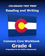 Colorado Test Prep Reading and Writing Common Core Workbook Grade 4