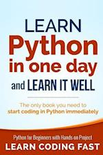 Learn Python in One Day and Learn It Well af Jamie Chan