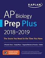 Kaplan AP Biology Prep Plus 2018-2019 (Kaplan AP Biology)
