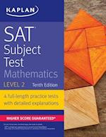 Sat Subject Test Mathematics Level 2 (Kaplan Sat Subject Test Mathematics Level 2)