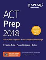 Kaplan ACT Prep 2018 (KAPLAN ACT)
