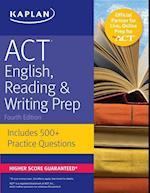 Kaplan ACT English, Reading & Writing Prep (Kaplan Test Prep)
