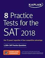 8 Practice Tests for the SAT 2018 (Kaplan Test Prep)