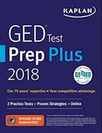 Kaplan GED Test Prep Plus 2018 (Kaplan Ged Test Prep Plus)