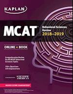 MCAT Behavioral Sciences Review 2018-2019 (Kaplan Mcat Behavioral Sciences Review)