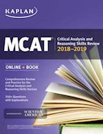 MCAT Critical Analysis and Reasoning Skills Review 2018-2019 (Kaplan Test Prep)
