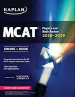 MCAT Physics and Math Review 2018-2019 (Kaplan Test Prep)