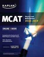 MCAT Physics and Math Review 2018-2019 (Kaplan Test Prep)