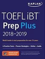 Kaplan Toefl iBT Prep Plus 2018-2019 (Kaplan TOEFL iBT)