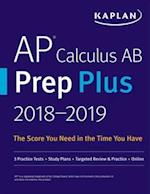 AP Calculus AB Prep Plus 2018-2019 (Kaplan Test Prep)