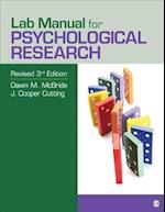 Lab Manual for Psychological Research af Dawn M. Mcbride