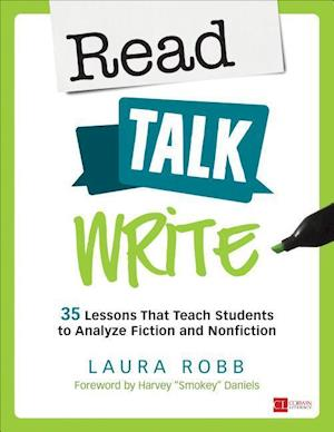Bog, paperback Read, Talk, Write af Laura J. Robb