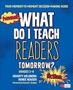 What Do I Teach Readers Tomorrow? Fiction (Corwin Literacy)