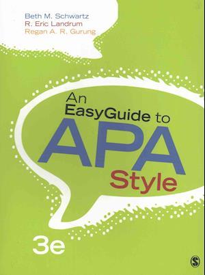 Bog, paperback An Easyguide to APA Style + Statlab Online 2.0 Access Code af Beth M. Schwartz