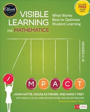 Bog, paperback Visible Learning for Mathematics af John A. Hattie