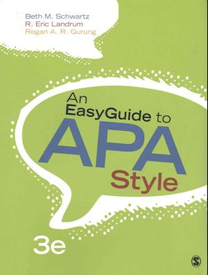 Bog, paperback An EasyGuide to APA Style + An EasyGuide to Research Design & SPSS af Beth M. Schwartz