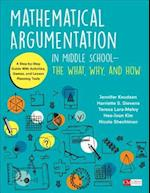 Mathematical Argumentation in Middle Schoo