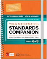 Your Mathematics Standards Companion, Grades 6-8 (Corwin Mathematics Series)