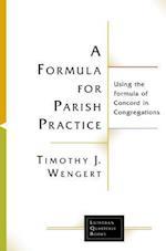 Formula for Parish Practice