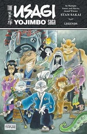 Bog, paperback The Usagi Yojimbo Saga af Stan Sakai
