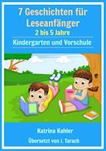 Leseanfanger: Stufe 1 Sichtworter-Buch - 7 einfach zu lesende Geschichten mit Sichtwortern