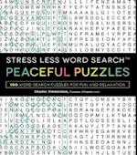 Stress Less Word Search Peaceful Puzzles