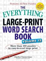 The Everything Large-Print Word Search Book, Volume 12 (EverythingR)