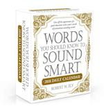Words You Should Know to Sound Smart 2018 Daily Calendar