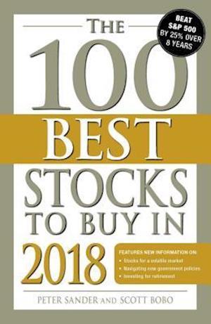 Bog, paperback The 100 Best Stocks to Buy in 2018 af Peter Sander