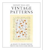Vintage Patterns (Instant Wall Art)