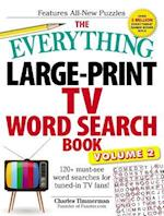 The Everything Large-Print TV Word Search Book, Volume 2 (EverythingR, nr. 2)