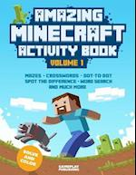 Amazing Minecraft Activity Book af Minecraft Library, Gameplay Publishing