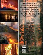 A Qualitative and Quantitative Analysis of Risk Perception and Treatment Options as Related to Wildfires in the USDA Fs Region 3 National Forests