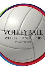 Volleyball Weekly Planner 2015